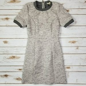 [Anthropologie ]Silence + Noise gray dress